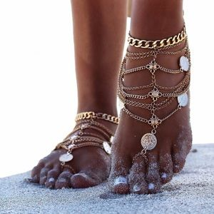 Jewelry - Antique Silver Anklet Feet Chain